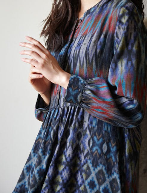 The Patched Ikat Collection