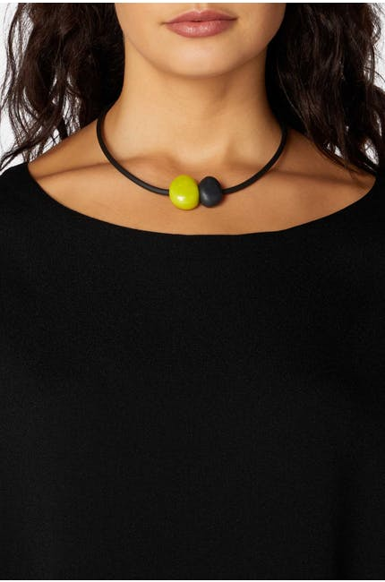 Stone And Pebble Necklace
