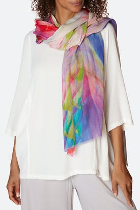 Photo of Blurred Colour Scarf