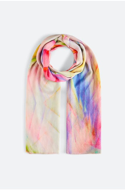 Blurred Colour Scarf
