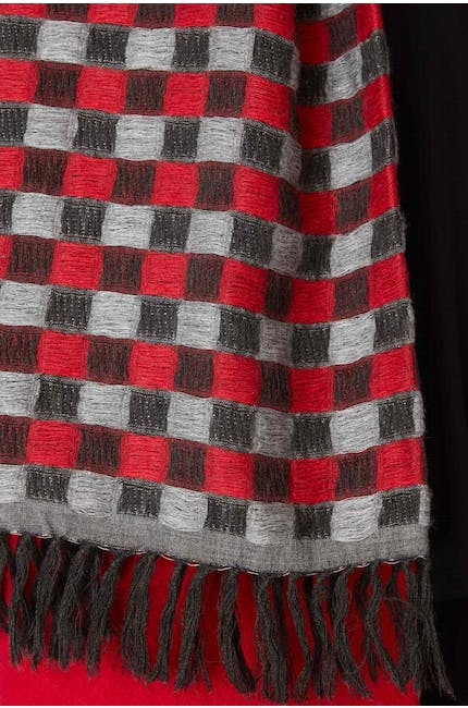 Wool Mix Square Scarf