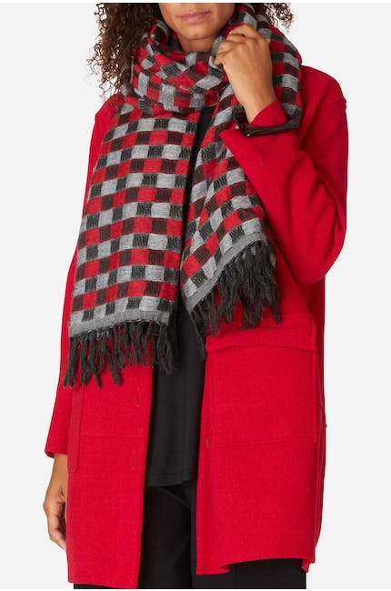 Photo of Wool Mix Square Scarf