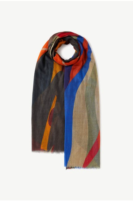 Photo of Abstract Print Scarf