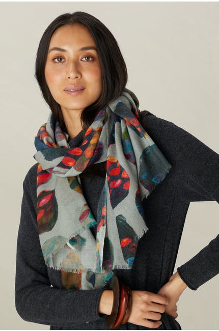 Painted Circles Scarf