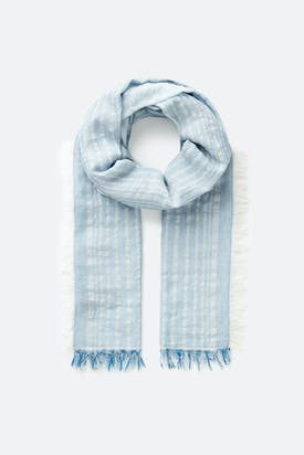 Photo of Metallic Stripe Scarf