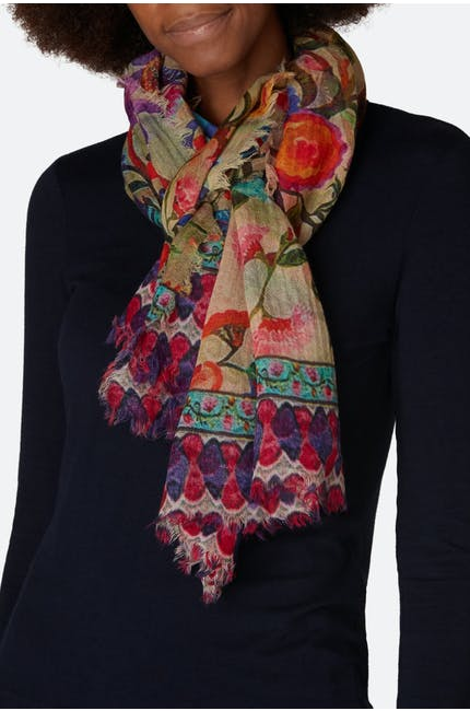 Photo of Floral Print Scarf