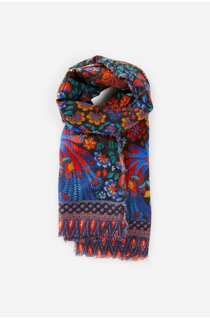 Mexican Floral Scarf