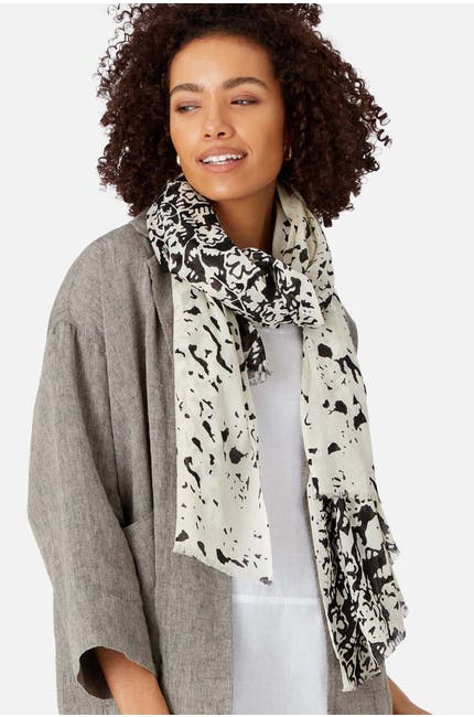 Photo of Printed Monochrome Scarf