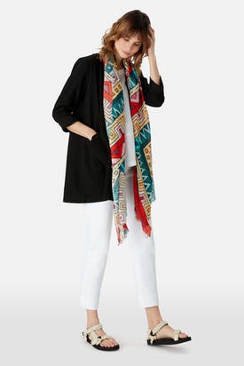 Photo of Graphic Print Scarf