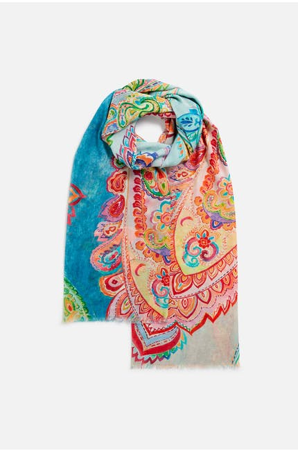 Photo of Paisley Summertime Scarf