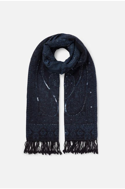 Photo of Midnight Sequin Scarf