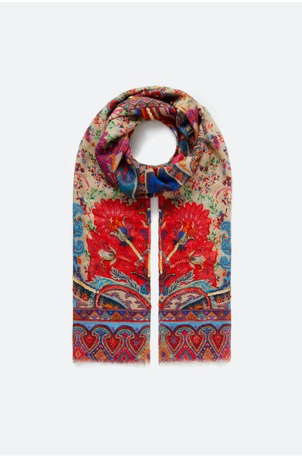 Photo of Paisley Print Scarf
