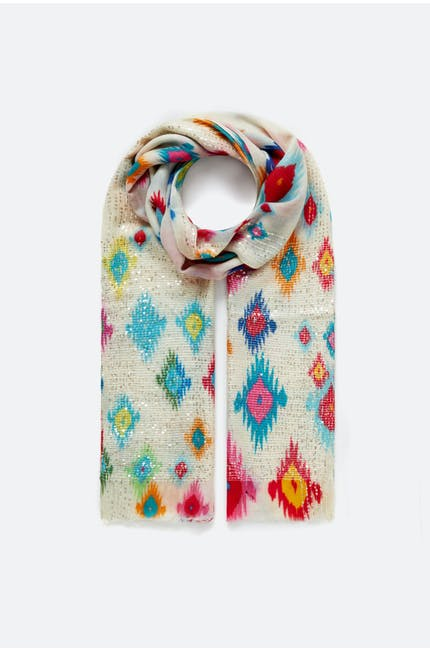 Photo of Embellished Aztec Scarf