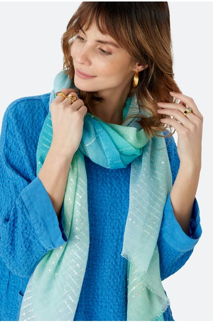 Sequin Embroidered Scarf