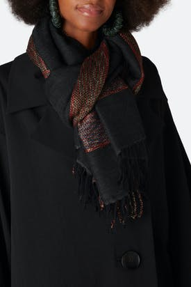 Photo of Embroidered Detail Scarf