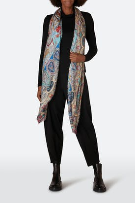 Photo of Contemporary Paisley Scarf