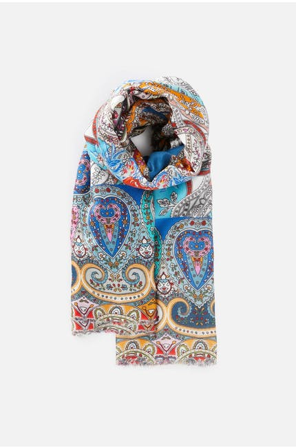 Contemporary Paisley Scarf
