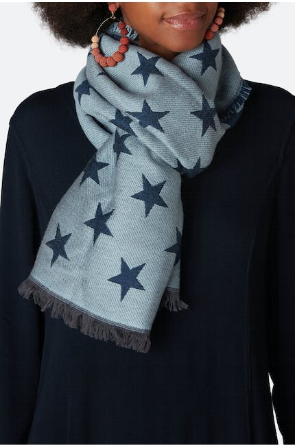 Photo of Star Print Scarf