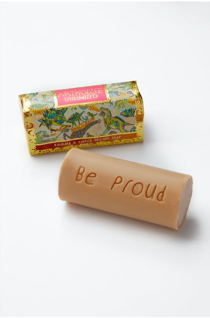 Photo of Rhubarb & Ginger Soap