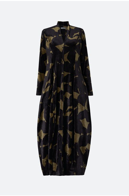 Photo of Velvet Print Dress