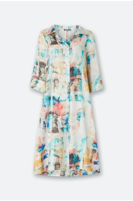 Photo of Print Linen Dress
