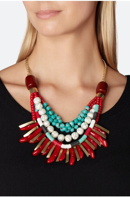 Layered Tribal Necklace