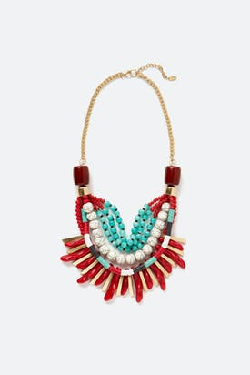 Photo of Layered Tribal Necklace