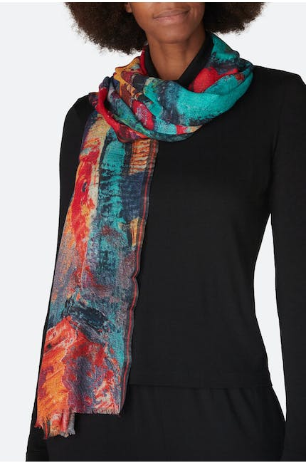Photo of Smudge Print Scarf
