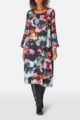 Photo of Anemone Blossom Print Dress