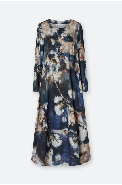 Japanese Blossom Print Dress