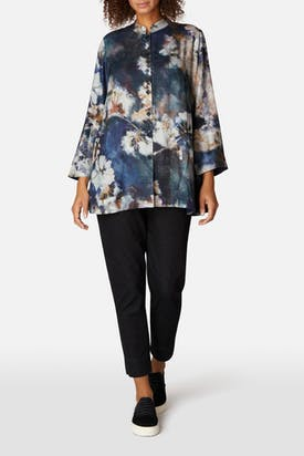 Photo of Japanese Blossom Print Shirt