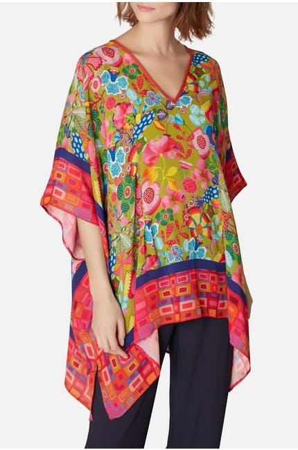 Blank Orion V Neck Poncho