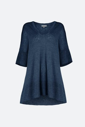 Photo of V-Neck Linen Top
