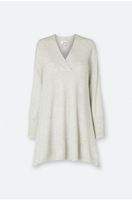 Photo of Oversized V Neck Knit Tunic