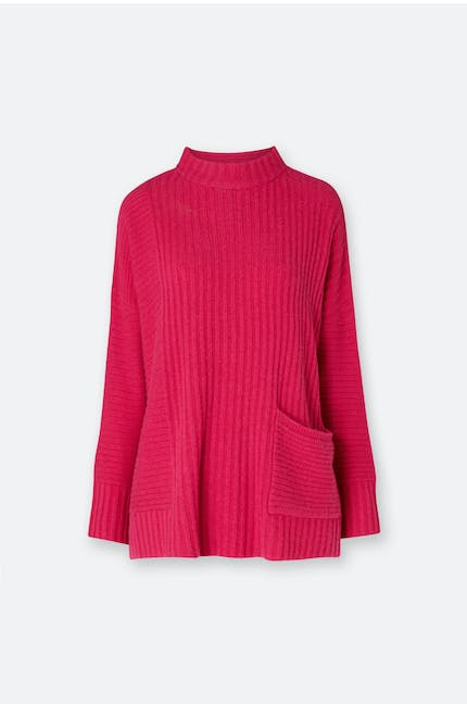 Photo of Textured Stripe Knit Sweater