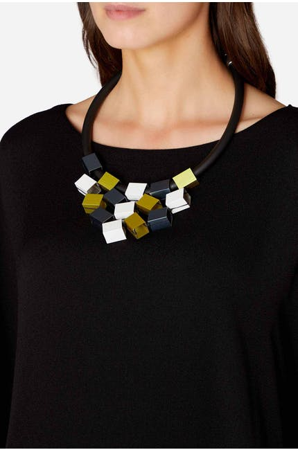 Photo of Aluminium Cube Necklace