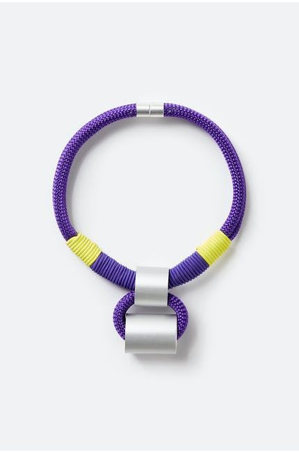Duo Cylinder Necklace
