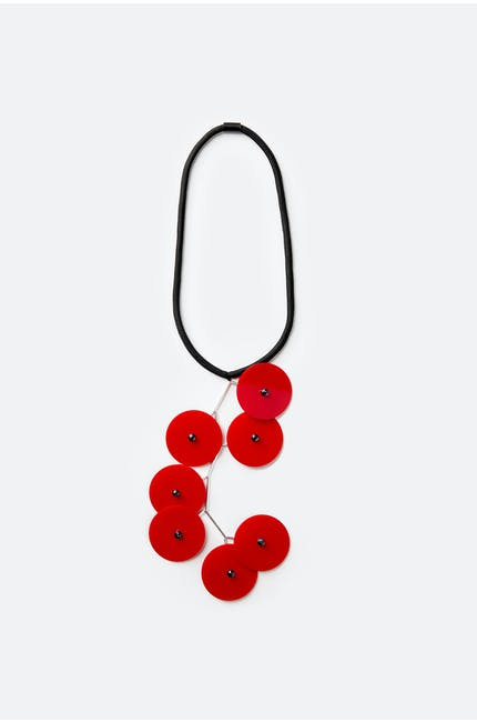 Photo of Suspended Disc Necklace