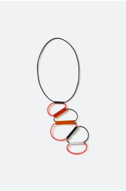 Photo of Obscure Hoop Necklace