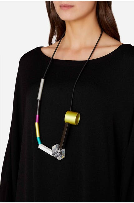 Photo of Suspended Cylinders Necklace