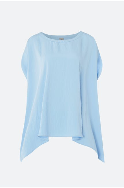 Crea Concept Slash Sleeve Top