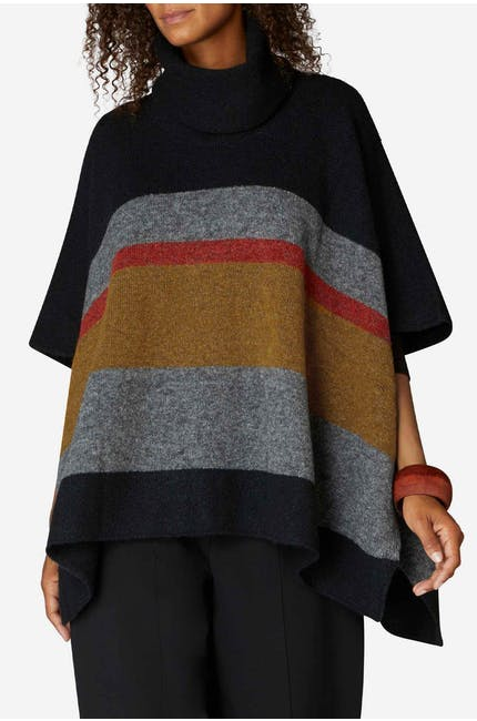 Photo of Stripe Poncho