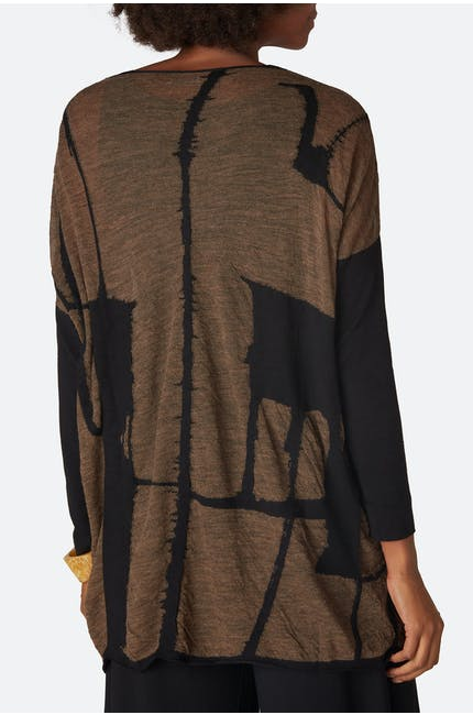 Graphic Knit Tunic