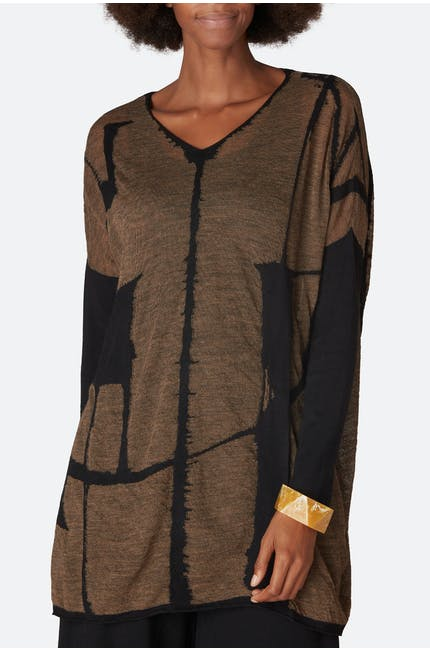 Photo of Graphic Knit Tunic