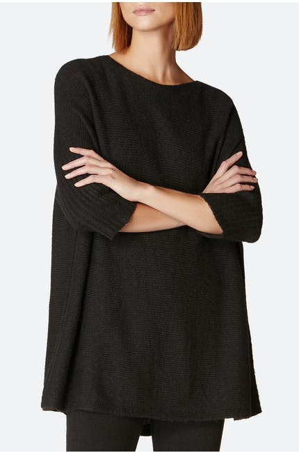 Boxy Soft Touch Knit Sweater
