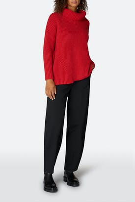 Photo of Ribbed Roll Neck Sweater