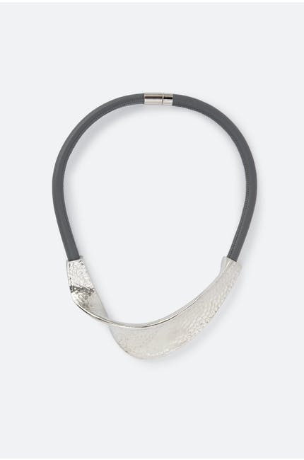 Photo of Hammered Twist Necklace