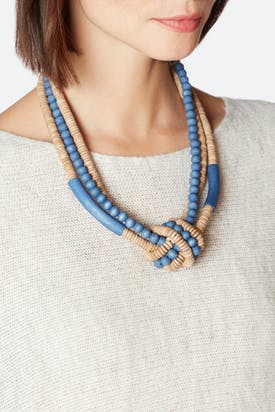 Photo of Knotted Bead Necklace
