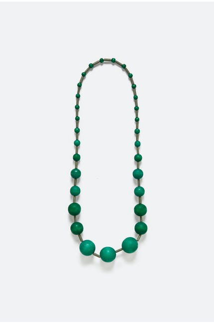 Varied Bead Necklace