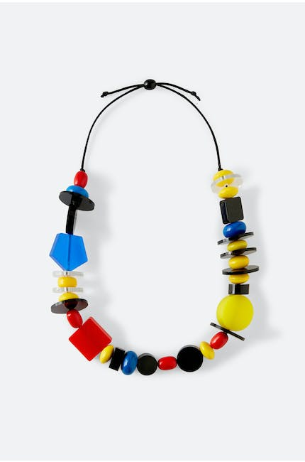 Multi Shape Necklace